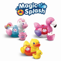 magic splash p'tites bouees licorne canard flamant rose assortiment Vtech