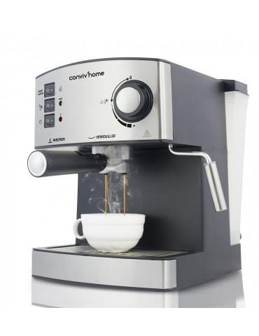 Machine à Café Inox 1,6L...